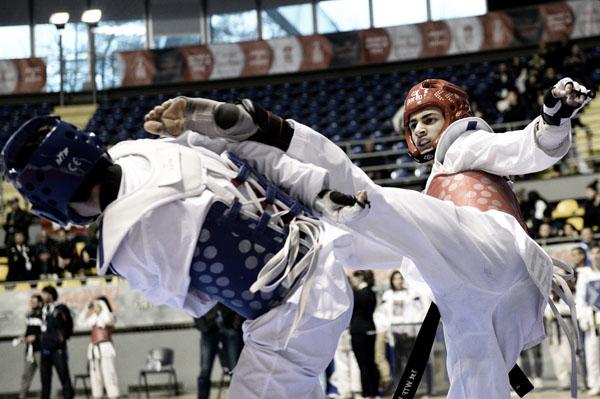 taekwondo - campionati italiani juniores - foto Massimo Pinca