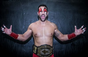Fabio Ferrari, Red Devil e il wrestling in Italia