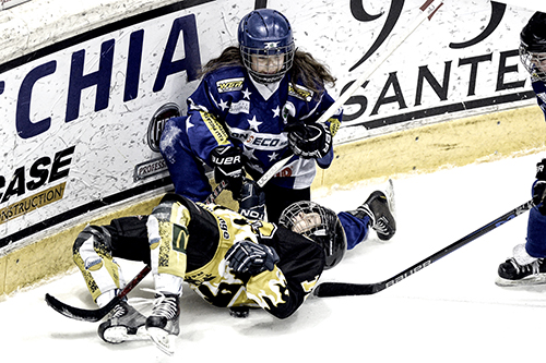 hockey ghiaccio - Little Rascals - foto Massimo Pinca