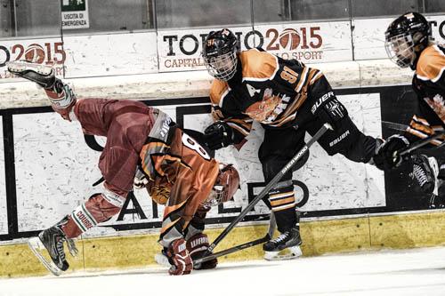hockey ghiaccio - Mountain Cup Challenge - foto Massimo Pinca