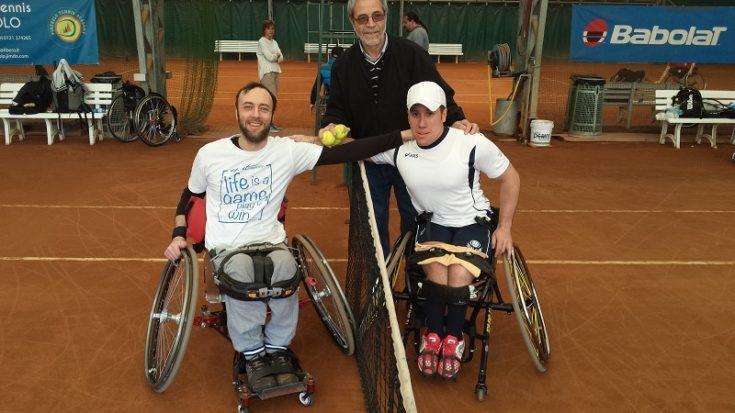 tennis in carrozzina - trofeo Pinerolo