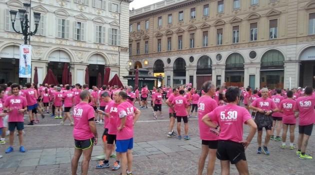 Leggi l'articolo: Podismo: 5.30, in piazza Castello un'alba con 4.000 persone