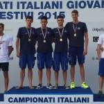 Centro Nuoto Torino a segno nella 4×200 ai Campionati Italiani di categoria