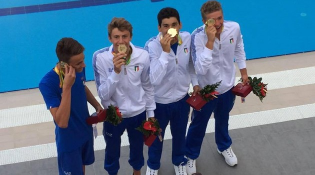 Leggi l'articolo: Nuoto: EYOF, Emanuel Fava è oro con la staffetta mista azzurra