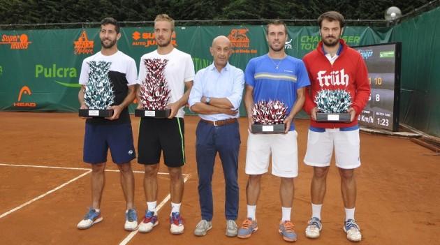 Leggi l'articolo: Tennis: ai Faggi di Biella pioggia protagonista. La finale sarà tutta straniera