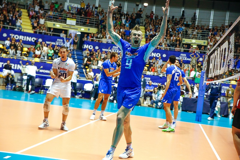 pallavolo - world league - foto Fulvio De Asmundis