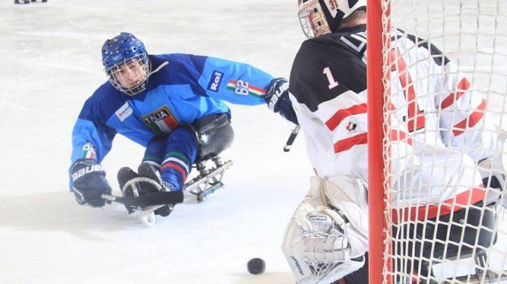 sledge hockey - Italia