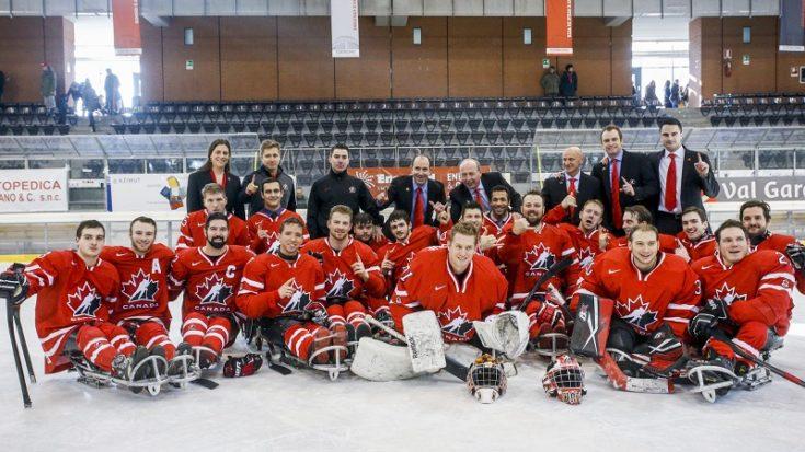 sledge hockey - Canada