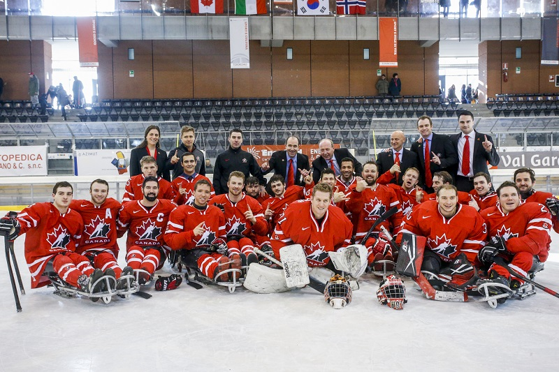 sledge hockey - Canada