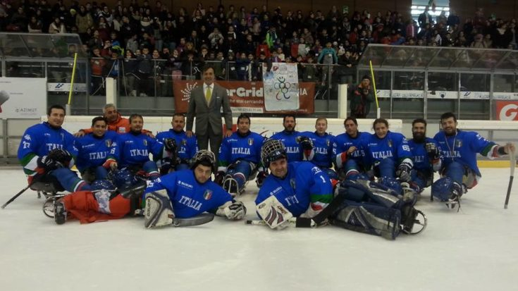 sledge hockey - torneo internazionale