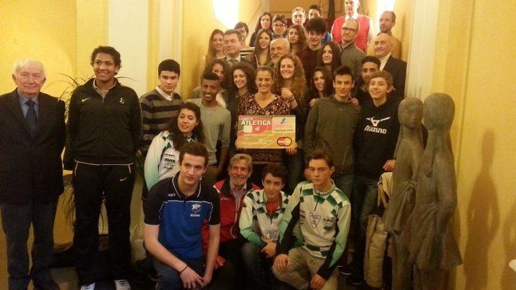 atletica leggera - premiazioni Piemonte