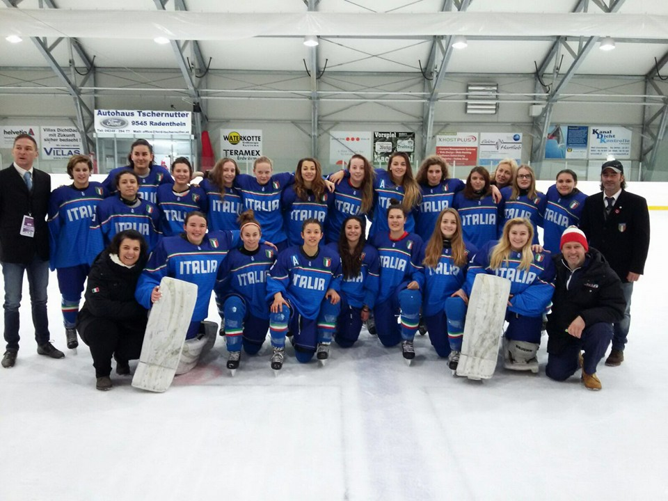 hockey ghiaccio - Nazionale under 18