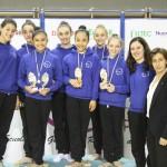 Ginnastica Ritmica: esordio con 13 medaglie per Eurogymnica