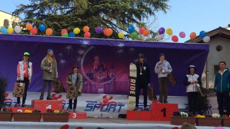 snowboard - trofeo topolino