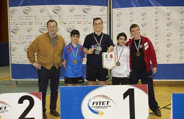 tennis tavolo - Campionati Italiani Paralimpici - Cus Torino