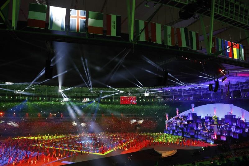 La cerimonia di chiusura al Maracanà: addio Rio, arrivederci a Tokyo 2020