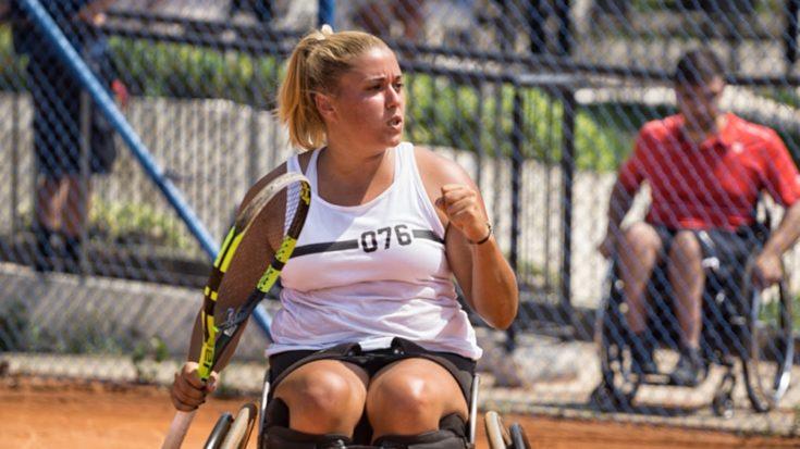 tennis in carrozzina - Giulia Capocci