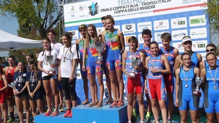 triathlon - coppa delle regioni