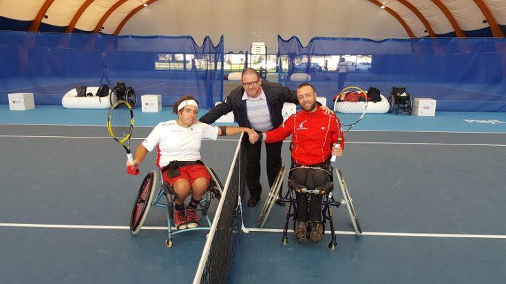 tennis in carrozzina - Circuito Open