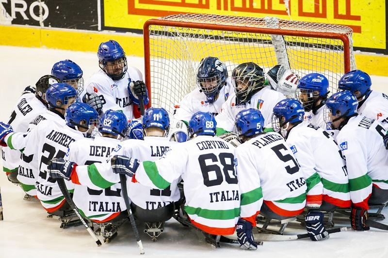 Para Ice Hockey: la nazionale passa da Torino nella sua strada verso i Giochi Invernali