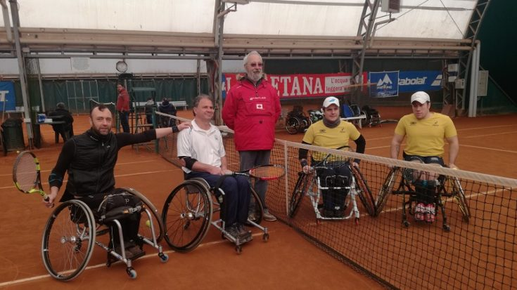 tennis in carrozzina - trofeo città di pinerolo