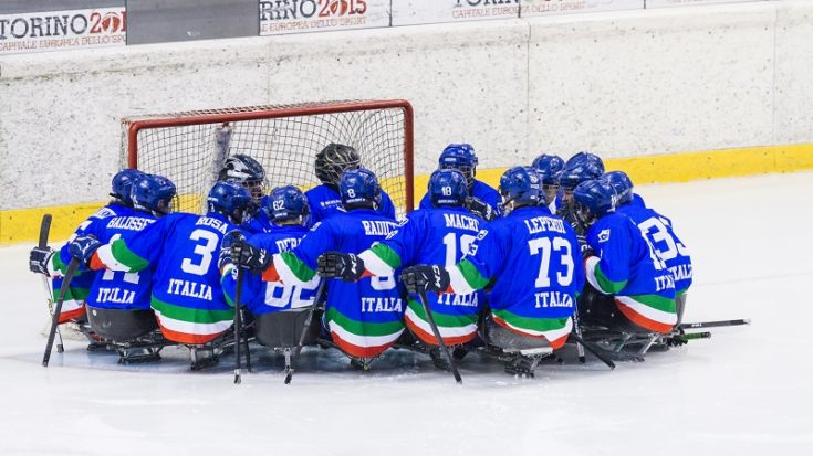 para ice hockey - Italia
