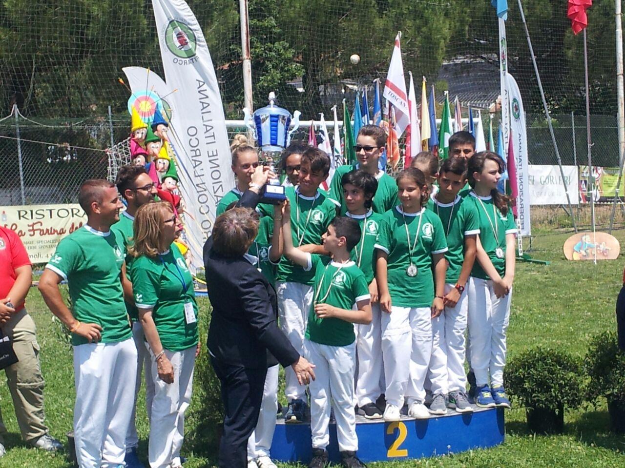 Tiro con l'Arco: Piemonte secondo nella festa del Trofeo Pinocchio