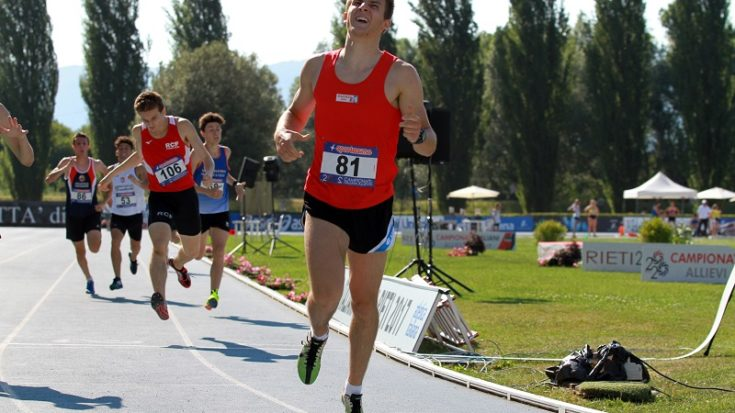 atletica leggera - Andrea Grandis