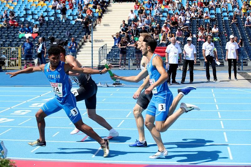 Il brindisino Corsa quinto nei 400 metri agli Europei Under 23