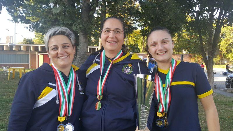 Tiro a Segno: 7 medaglie per la sezione di Torino ai Tricolori di Milano