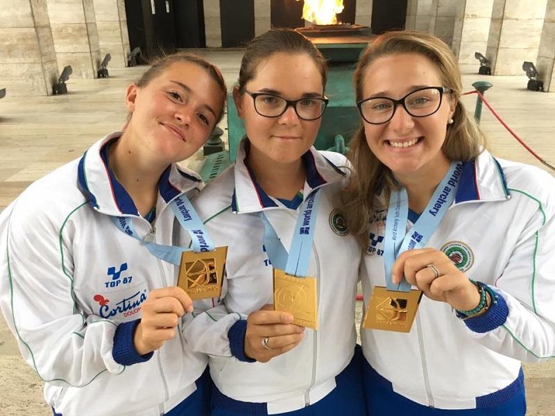 Tiro con l'Arco: Tatiana Andreoli campionessa del mondo Junior a squadre