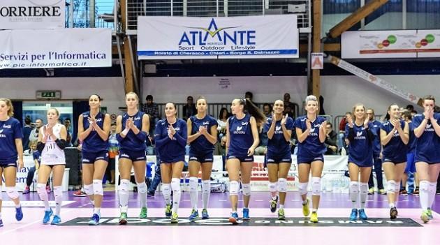 Leggi l'articolo: Chieri '76 e CUS Collegno Volley avanzano in A2 femminile