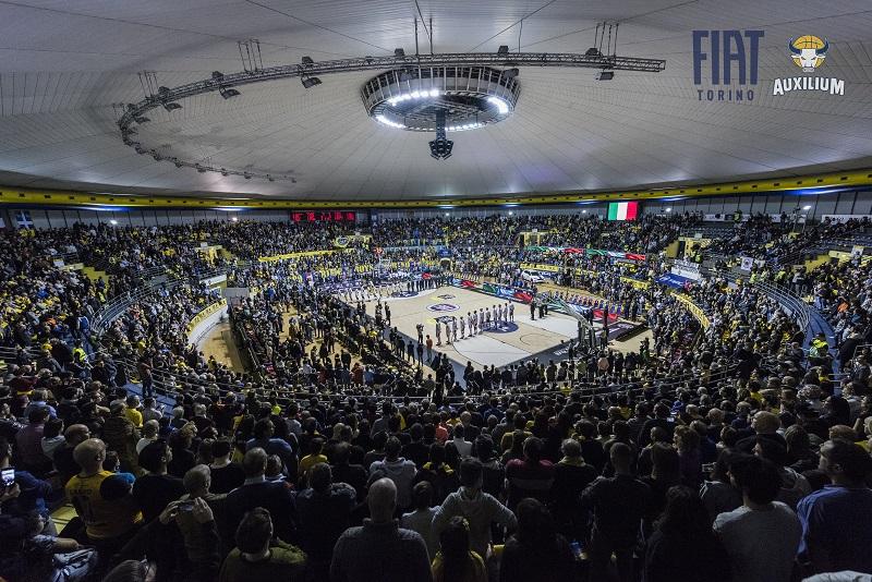 """Domenica al PalaRuffini c'è il """"Basket Day"""". Biglietto unico per Torino-Brescia e Torino-Schio"""