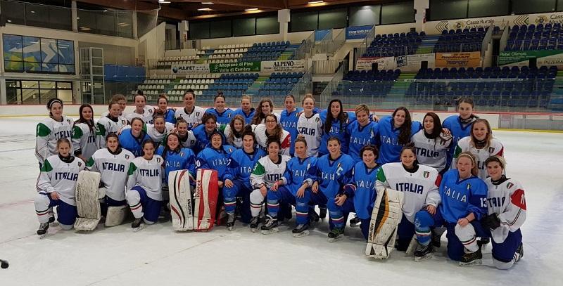 Hockey Ghiaccio: cinque ragazze torinesi pronte per i Mondiali under 18
