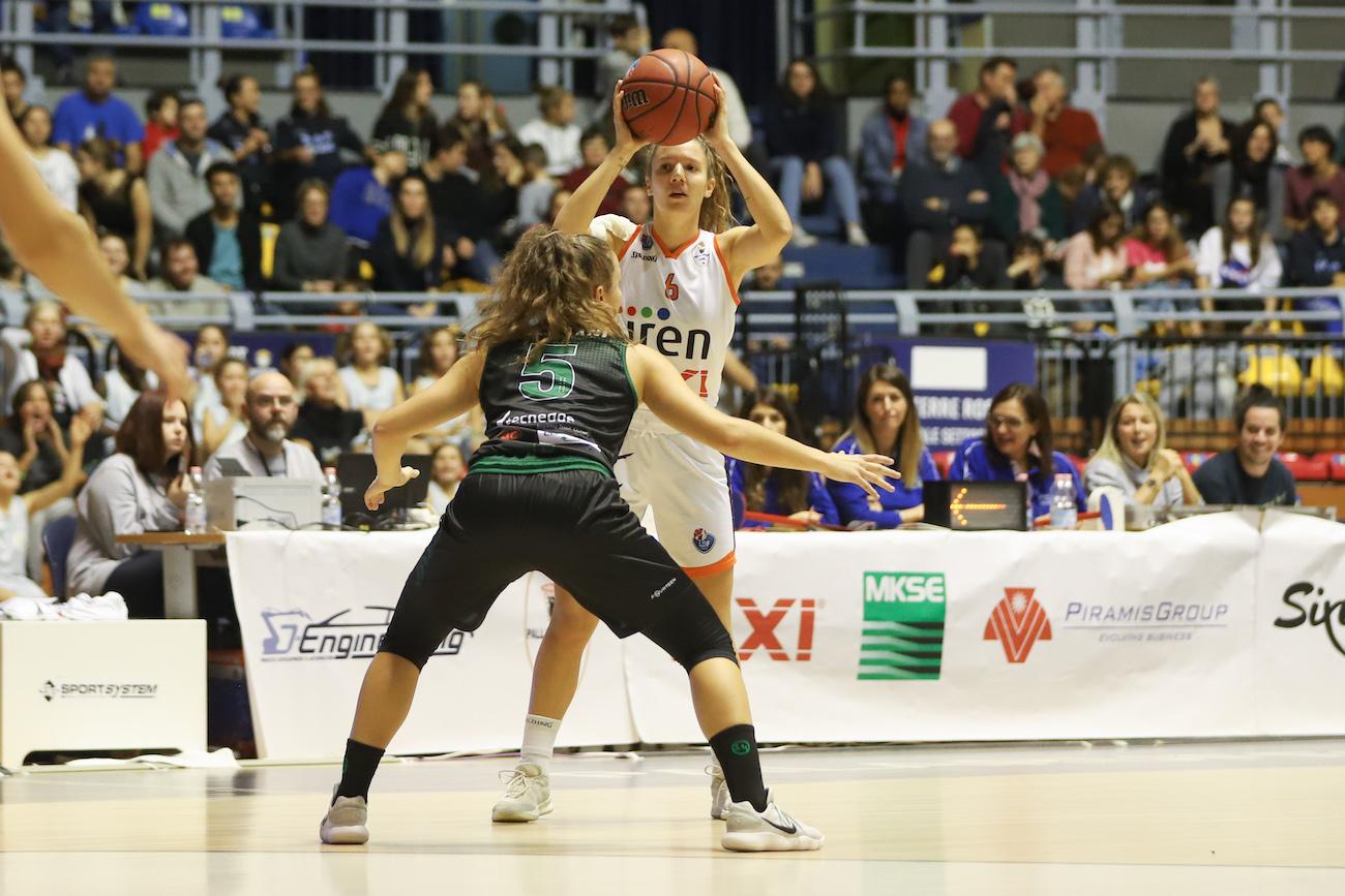 Serie A1: Iren Fixi Pallacanestro Torino - Virtus Eirene Ragusa