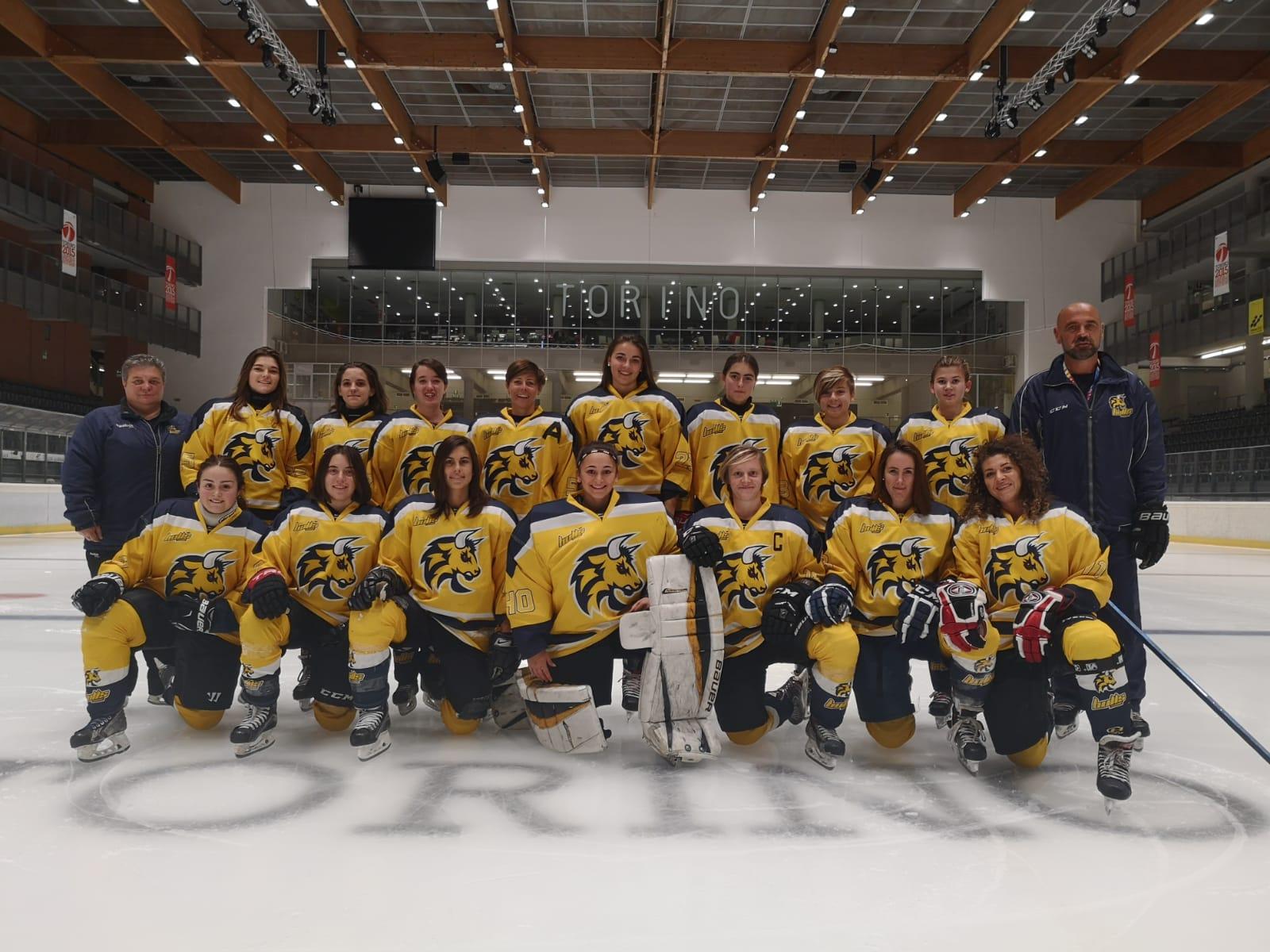 Serie A: HC Torino Bulls 2011 - Alleghe Hockey Girls